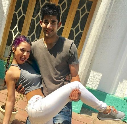 Benafsha Soonawalla with Varun Sood