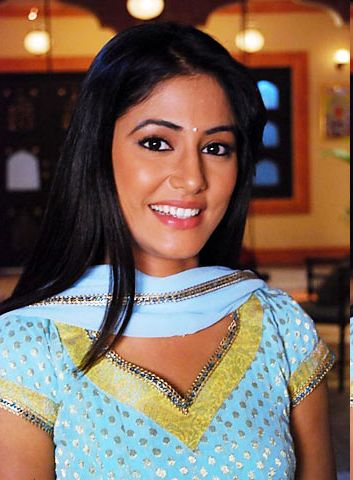 Hina Khan in younger days