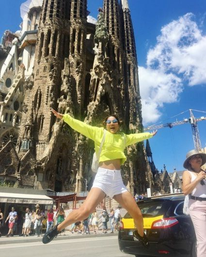 Hina Khan loves travelling