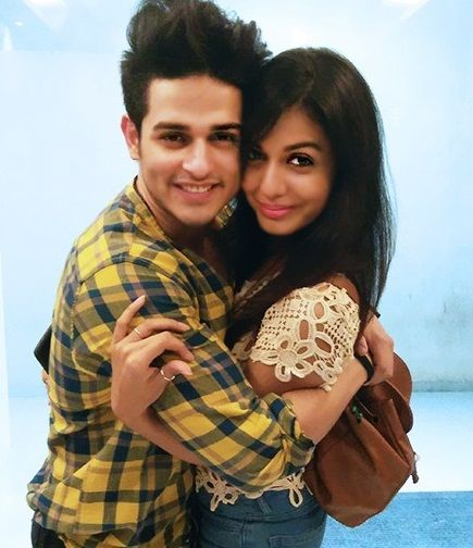 Priyank Sharma with girlfriend Divya Agarwal