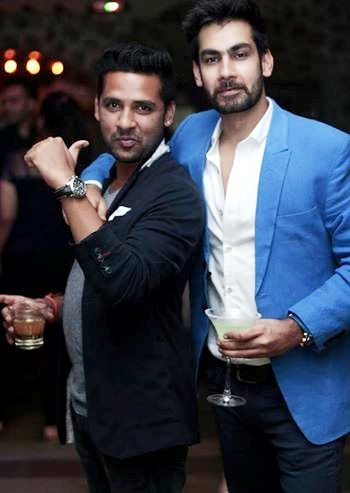 Puneesh Sharma drinks alcohol