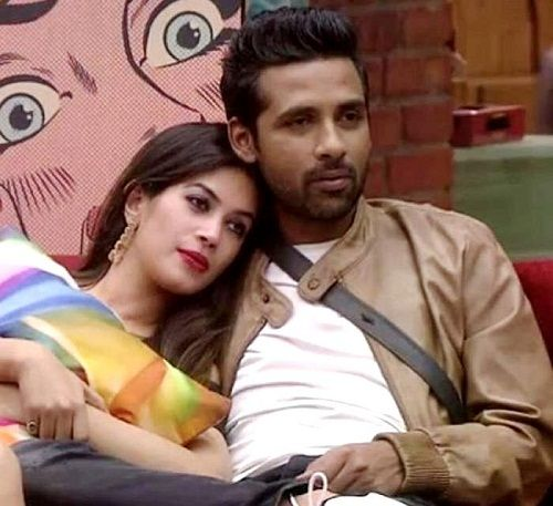 Puneesh Sharma with Bandgi Kalra