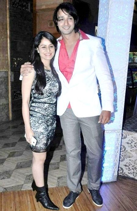 Saurabh Raj Jain with his wife Riddhima Saurabh Jain