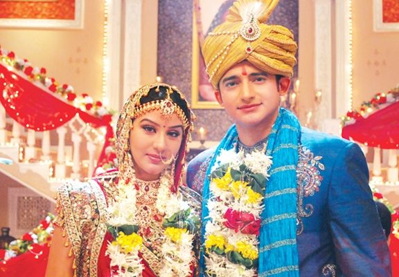 Shilpa Shinde and Romit Raj in TV serial Maayka