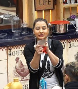 Shilpa Shinde inside Bigg Boss 11 house