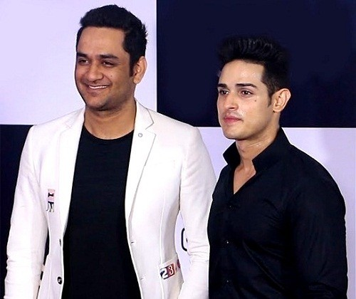 Vikas Gupta with Priyank Sharma