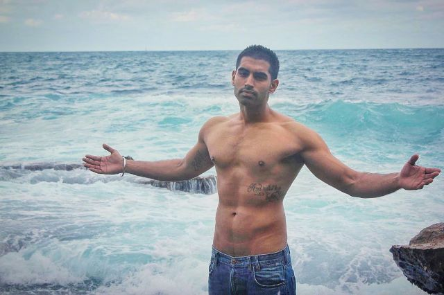 An old picture of Parmish Verma when he was in Australia