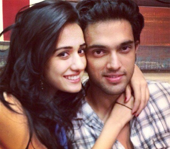 Disha Patani with Parth Samathan