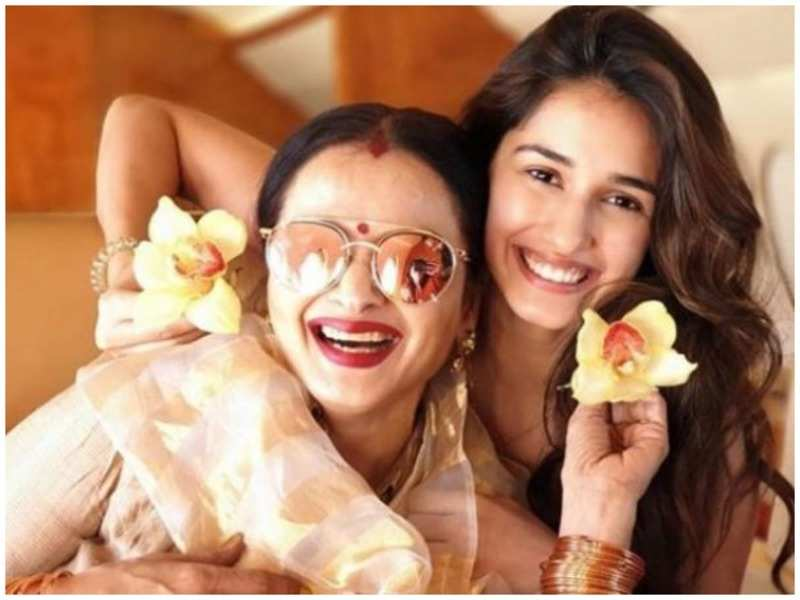 Disha Patani with Rekha