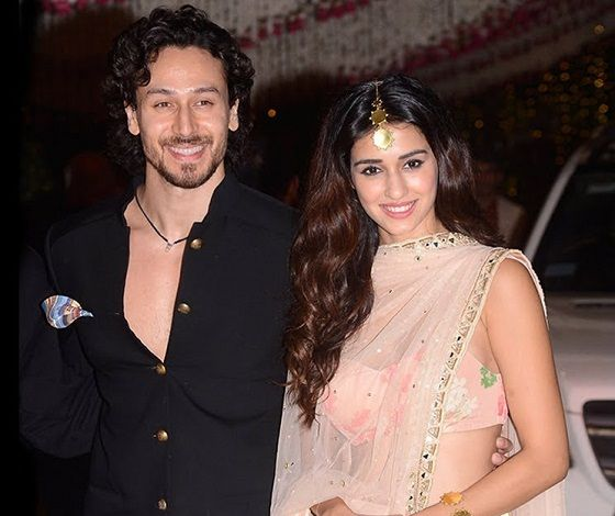 Disha Patani with boyfriend Tiger Shroff