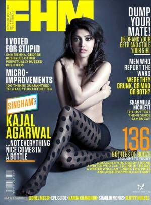 Kajal Aggarwal topless photo controversy