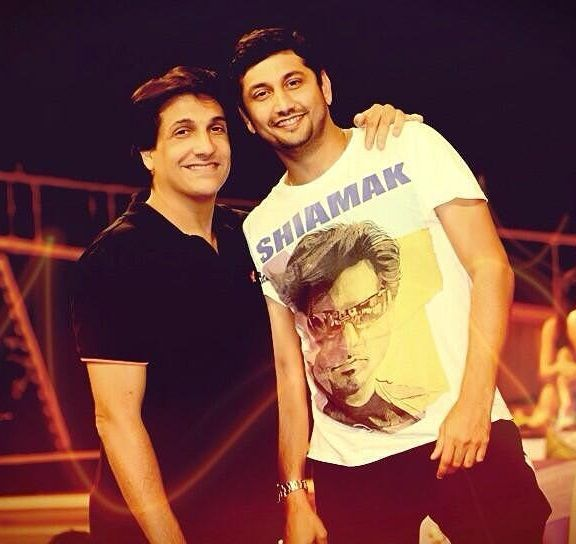 Marzi Pestonji with Shiamak Davar