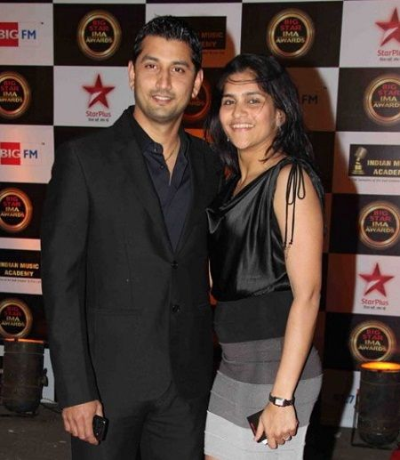 Marzi Pestonji with wife