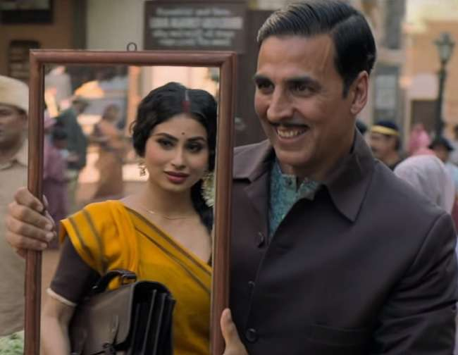 Mouni Roy with Akshay Kumar in Gold
