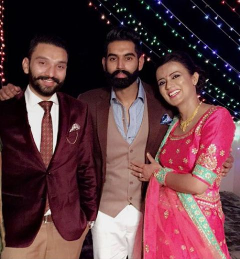 Parmish Verma with his childhood friend