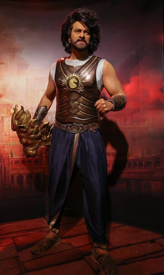 Prabhas wax statue at the Madame Tussauds museum