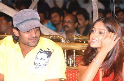 Prabhas with Ileana-DCruz
