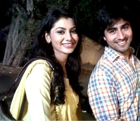Sriti Jha with Harshad Chopra