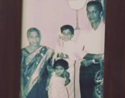 Terence Lewis during his childhood