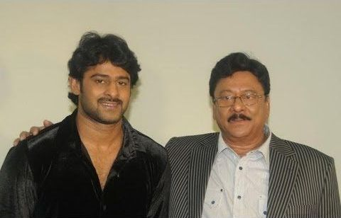 Prabhas with his uncle