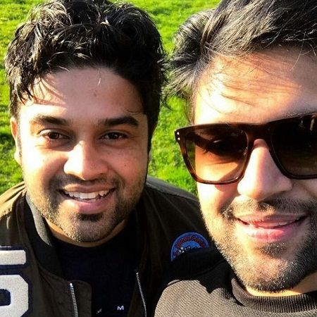 Guru Randhawa with his brother