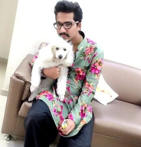 Haarsh Limbachiyaa loves dogs