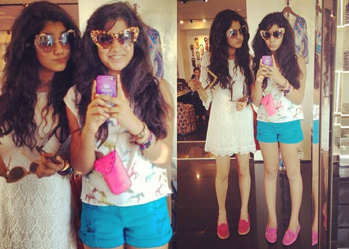 Jahnvi Kapoor with her sister