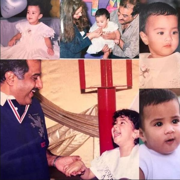 Jhanvi Kapoor's childhood pictures