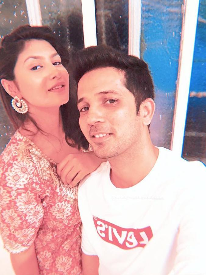 Mudassar Khan with Abhishri Sen