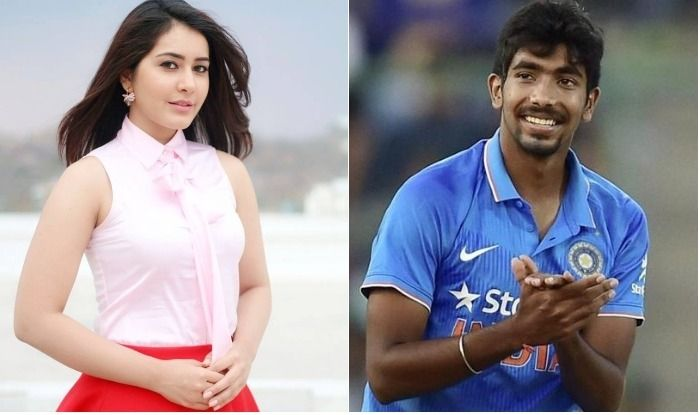 Jasprit's rumoured girlfriend, Raashi Khanna