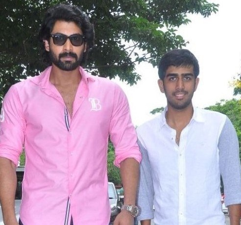 Rana Daggubati with his brother