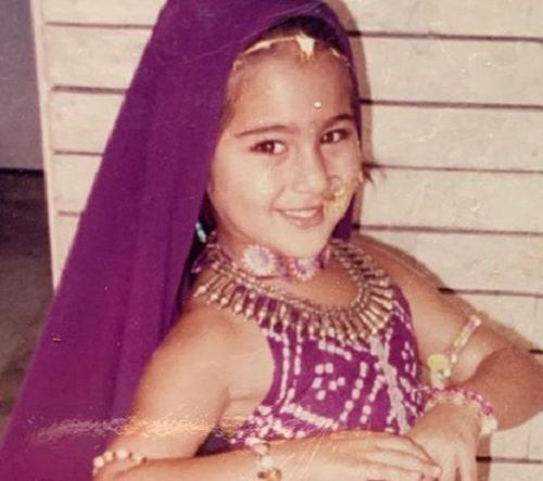 Sara Ali Khan's Childhood Picture