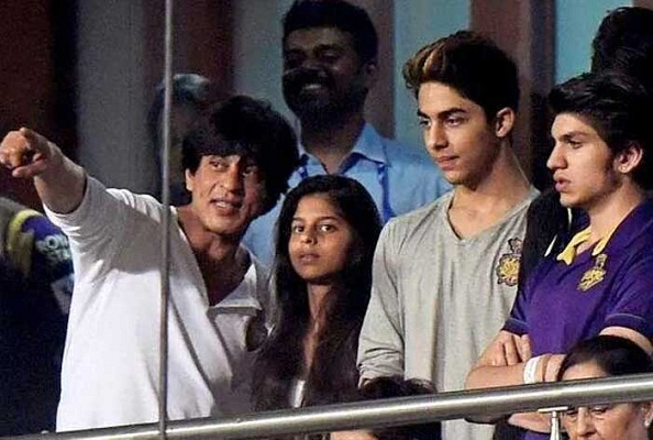 Suhana Khan during IPL Match