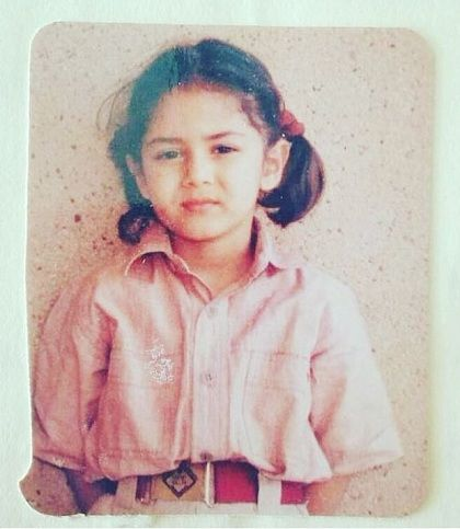 Mira Rajput childhood picture