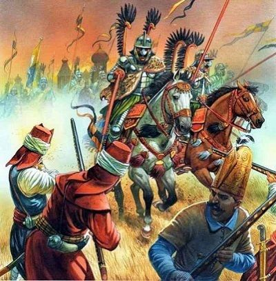 Battle with Mongols