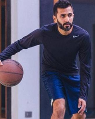 Anand Ahuja basketball lover
