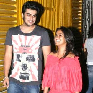 Arjun Kapoor with Arpita Khan