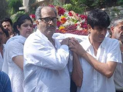 Boney Kapoor on his ex-wife funeral