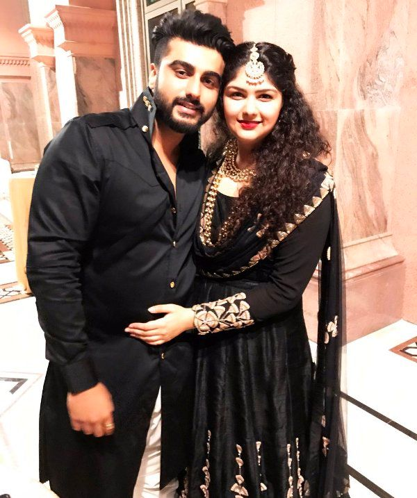 Boney Kapoor son Arjun Kapoor and daughter Anshula Kapoor