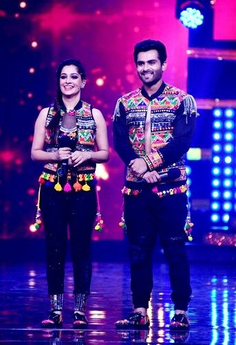 Dipika Kakar with Shoaib Ibrahim in Nach Baliye Season 8