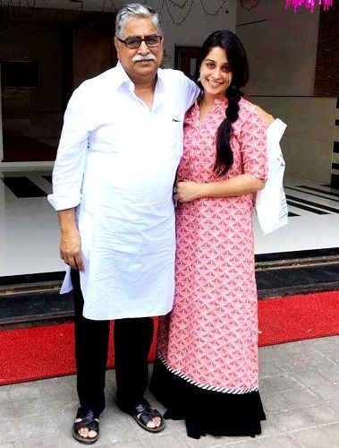 Dipika Kakar with her father