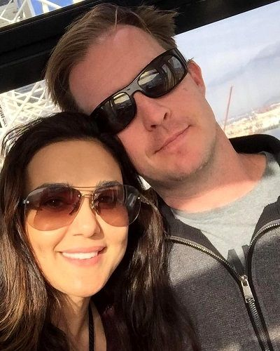 Gene Goodenough with Preity Zinta