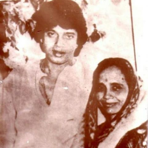 Mithun Chakraborty with his Mother