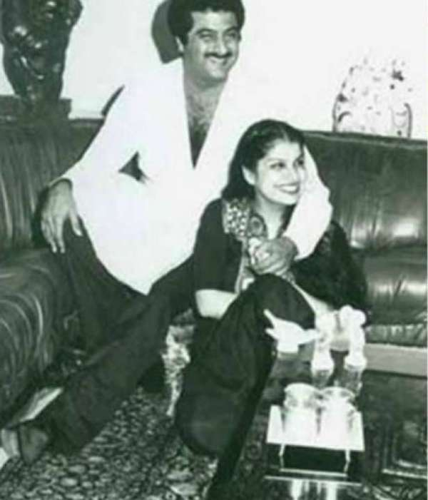 Mona Shourie Kapoor With Her Ex-Husband Boney Kapoor