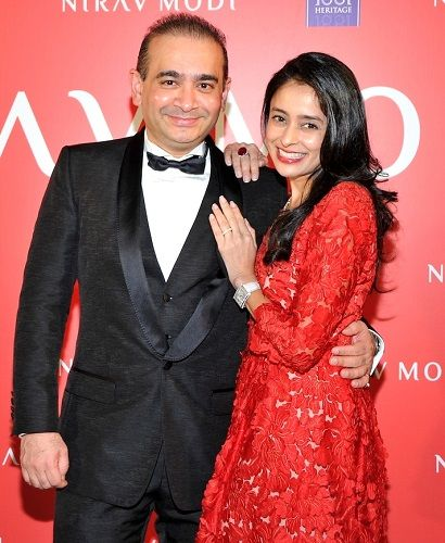 Ami Modi with Nirav Modi