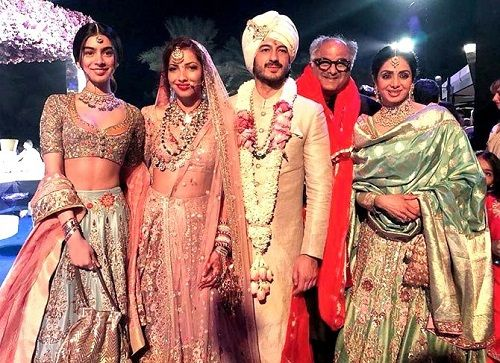 Sridevi in Mohit Marwah wedding