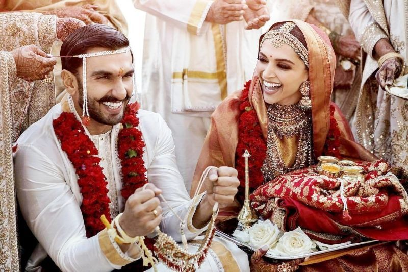 Ranveer Singh and Deepika Padukone marriage as per Konkani tradition