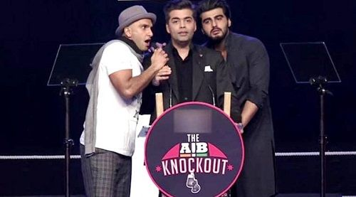 Ranveer Singh in AIB Knockout