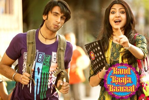Ranveer Singh in film Band Baaja Baaraat (2010)