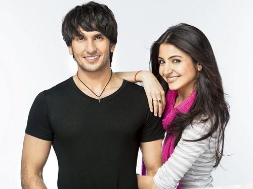 Ranveer Singh with Anushka Sharma